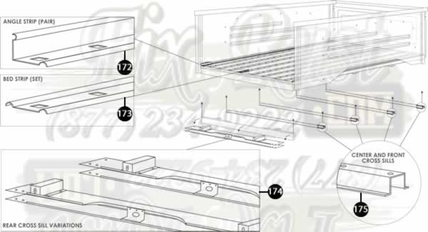 bed floor parts rust repair panels 2007 toyota camry front bumper diagram 2012 toyota camry front bumper parts