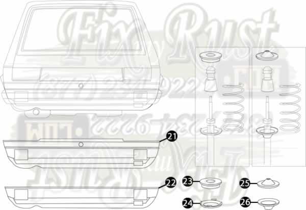 85 92 Golf Ii Rust Repair Panels